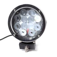 Super Bright 7 Inch 6000k White 12v / 24v Led Car Lights 60w Led Offroad Work Light