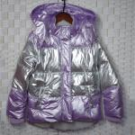 Violet Sustainable Padded Down Jacket For 4 - 12 Years Old Children