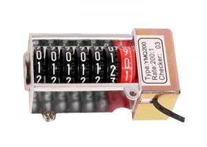 China Single Phase Stepper Motor Counter Meter Accessories of Plastic on sale