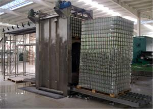 China Food Packaging Glass Bottle Depalletizer , Smooth Bottle Depalletizer Machine on sale