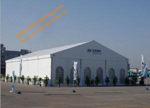 China Outdoor 25x40m Trade Show Display Tents Aluminum Commercial Exhibition Marquee on sale