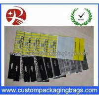 OPP Plastic Custom Packaging Bags Printing Clear With 2C - 5C Thickness