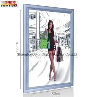 Snap Frame Led Light Box / Movie Poster Frames Light Box Advertising Displays