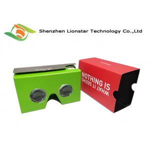 China Multi Color Smart 3D VR GogglesLight Weight For Live Shows / Tourism Marketing on sale