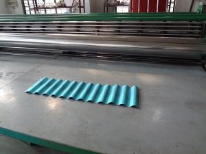 China tipo fino de 0.15mm-0.3mm galvanizado telhando o rolo da folha que forma a máquina on sale