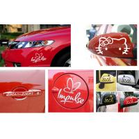 Car sticker waterproof vinyl window car sticker
