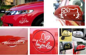 China Car sticker waterproof vinyl window car sticker on sale