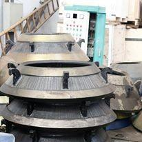 cone crusher spare parts high manganese steel cone liner