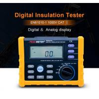 China 2500V Digital Insulation Resistance Tester Auto Power Off Auto Calculate PI And DAR on sale