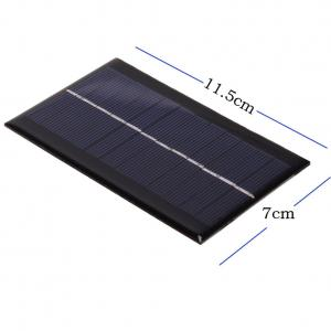 China Strongly Waterproof Mini Solar Panels 5W , Custom Size Solar Cells For Led Light on sale