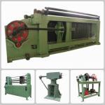 Double Twist Hexagonal Mesh Machine / Gabion Machine In Oil And Construction