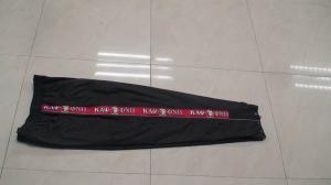 China Bragas del uniforme escolar, pantalones modificados para requisitos particulares de la ropa de deportes on sale