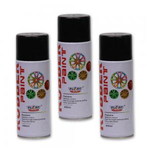 China cool ,colorful  400ml Aerosol Rubber Car wheel hub paint Personality of car on sale