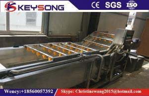 China Fresh Ginger Jujube Fruit And Vegetable Processing Machinery 2.2kw 1000 - 1200kg / H on sale