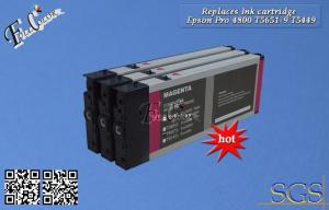 China Compatible Printer Ink Cartridge Eposon Pro 4800 Replace Cartridgte T5651-9 on sale