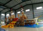Pirate Series Water Theme Park Equipment With 12 Months Warranty