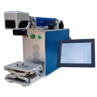 Sino-Galvo Batch Number Metal Marking Machine For Aluminum , Laser Marking Equipment