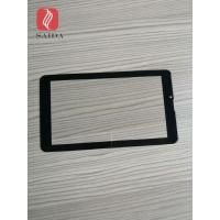 china glass factory OEM 5inch cover lens 0.7mm with 2.5d polished edges CNC processed for touch panel PC