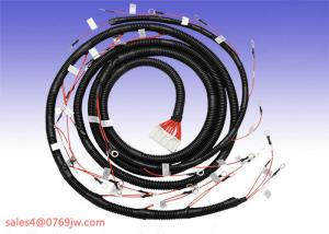 China Wire Harness Cable 26 Pin & M8 Ring Connector flexible Loom Assembly on sale