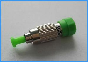 China Customized FC Fixed Fiber Optic Attenuator SM/MM Male - Female 1~25dB Optional on sale