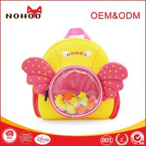 China Beautiful Angel Baby Girls School Backpack Cute Personalized Kids School Bags on sale