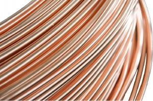 China Air Conditioning Copper Pipe 6 * 0.7 mm For Freezer , Condenser on sale