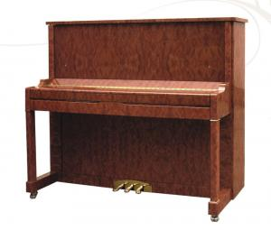 China Decorative Rosewood Acoustic Upright Piano Elegant Pianoforte Polished AG-125Z2 on sale