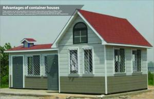 China Luxury Prefabricated Light Steel Structure Villa / Modern Modular Homes for Living on sale