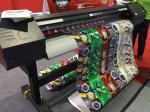 Papel/lona de la foto que imprime color solvente de la impresora CMYK cuatro del formato amplio