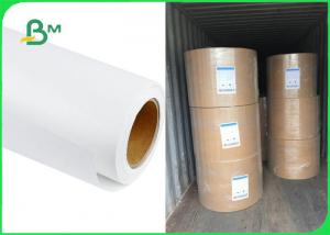 China Food Grade Uncoated White Sack Kraft Paper For Package 35gsm 40gsm 50gsm on sale