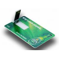 China 12Mbps伝達クレジット カード様式昇進Usbのフラッシュ ドライブ on sale