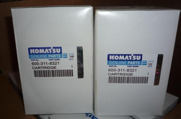 komatsu excavator PC200-7 hydraulic oil filter assy - ec90026885