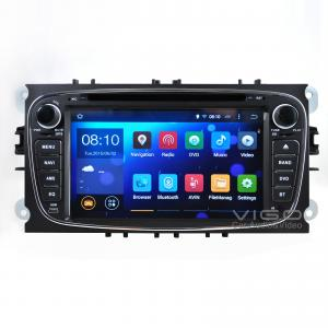 China Stéréo de voiture de système d'Android 4.4.4 pour la navigation 3G WIFI Mirrorlink de GPS de galaxie de Ford Focus on sale