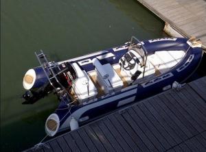 Orca Hypalon Tender Small Rib Boat Dark Blue Chemical