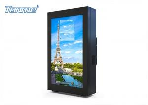 China 32 to 84 Inch High Bright Exterior Digital Signage, Wall Mounted LCD Touch Display on sale
