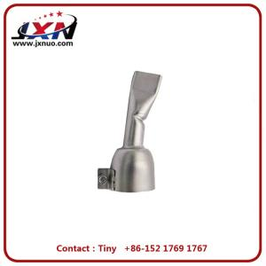 China Heat Gun Nozzle Plastic Welding Accessories 20mm Stainless Steel Welding Tip on sale