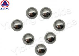 China Oil Drilling Tungsten Alloy Ball Chemical Resistance , Tungsten Carbide Beads Good Sealing on sale