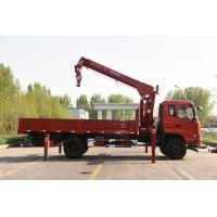 China Howo Sino 6x4 Cargo Crane Truck / 10 Ton Telescopic Boom Truck on sale
