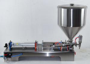 China Liquid Semi Automatic Filling Machine / Yogurt Cup Filling Sealing Machine on sale