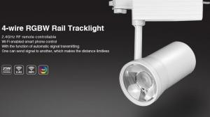 China Milight Wifi 25W 2/3/4-wire RGBW Rail LED Tracklight 2.4G RF remote RGBW All in one Lamp with IOS Android APP Spotlight on sale
