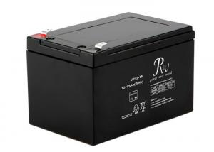 China Nonspillable Construction VRLA Valve Regulated Lead Acid Battery 12 volt 15ah Maintenance Free on sale