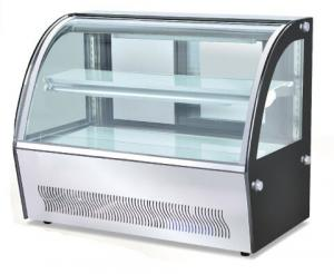 China Commercial Counter Top Cake Food Display Cabinets Catering Equipment European Style on sale