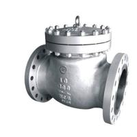 Silver Color Cast Steel Swing Check Valve Premium Quality ISO9001 Certification