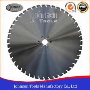 China Slant U Slot Type Diamond Cutting Disc For Concrete Wall Saw 4.8/5mm Segment Thickness on sale