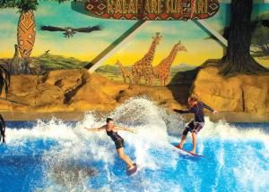 Quality OEM Water Park Hotel Novelty Flowrider Surfing Simulating Machine Equipment for for sale