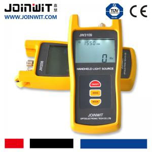 China JW3109 Wavelength 13/14/15nm  Fiber Optical Light Source  FTTH Fiber Tester Device on sale