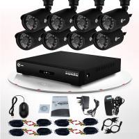 China Equipo a prueba de mal tiempo al aire libre infrarrojo de la cámara CCTV 700TVL DVR del CCTV de la vigilancia video LED on sale