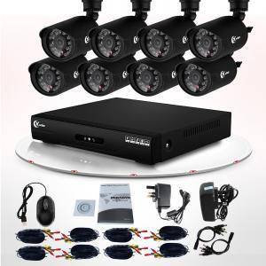 China Kit imperméable extérieur infrarouge de la caméra DVR de la télévision en circuit fermé 700TVL de télévision en circuit fermé de la surveillance visuelle LED on sale
