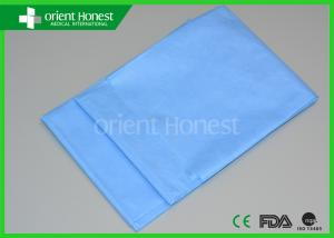 Quality Sterile SMS Material Disposable Hospital Bed Sheets For Operation  For Sale ...