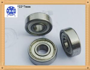 China Single Row Deep Groove Ball Bearing For Instruments / Agricultural Machines in  ZZ RS 2RS Type on sale